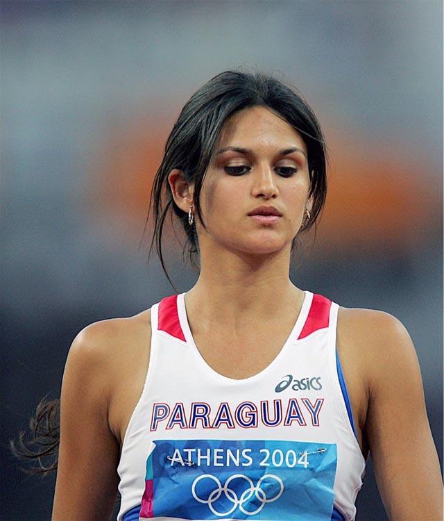 Musa do paraguai na olimpíada de Londres 2012 Leryn Franco