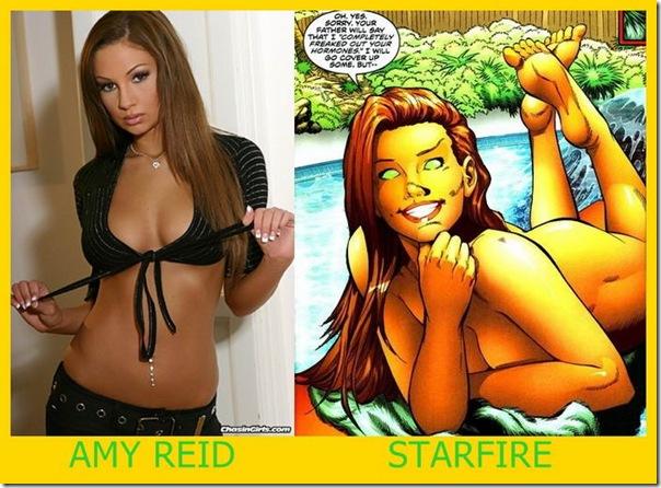Se as estrelas pornôs fossem heroínas dos quadrinhos