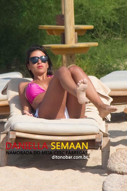 As musas da seleção espanhola - Daniella Semaan