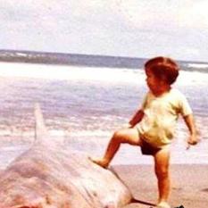 omachoalpha - Chuck Norris na praia