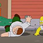 Primeira imagem do episódio The Simpsons Guy