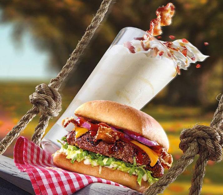 Chegou o que você esperava, milkshake de bacon