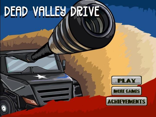 Dead Valley Drive é um jogo arcade de fases baseado em um vale cheio de zumbis.