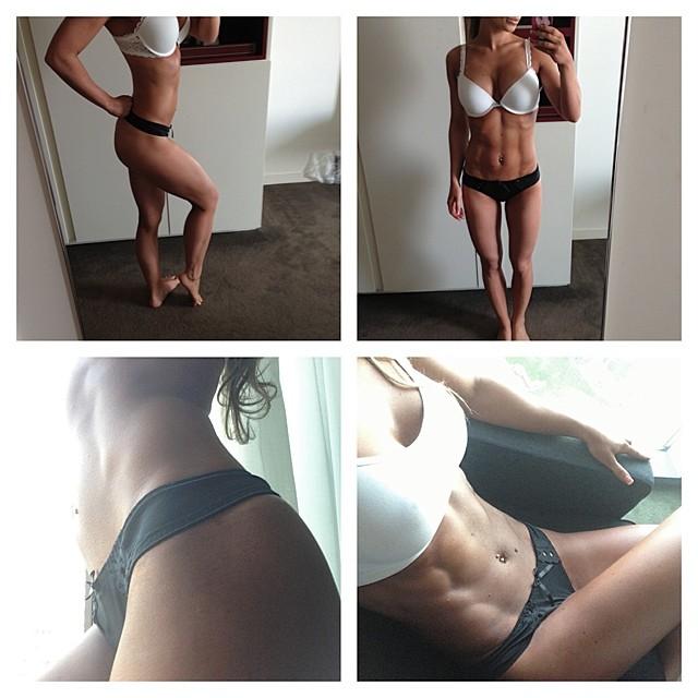 Lelde Liepa modelo fitness da Lituânia