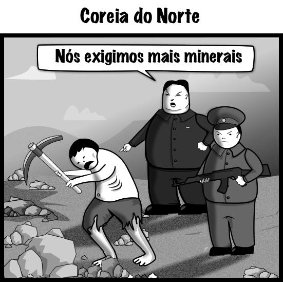 Diferenças entre as Coreia do Sul e do Norte