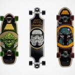 Santa Cruz Skateboards cria edição limitada de shapes da saga Star Wars