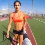 Allison Stokke e o salto com vara mais sexy que você já viu