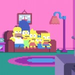 the simpsons pixels
