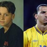 Como eram 20 dos melhores jogadores do mundo quando crianças