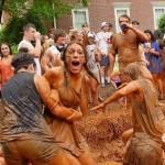 cabo de guerra na lama