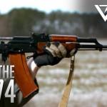 Slowmotion por dentro de uma AK47