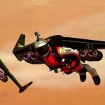 Voando sobre Dubai de Jetpacks