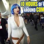 Como é a vida de uma cosplayer mulher na comic-con