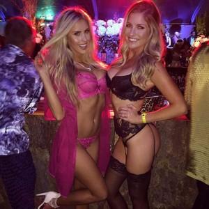 mulheres de lingerie