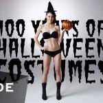 100 anos de fantasias de Halloween
