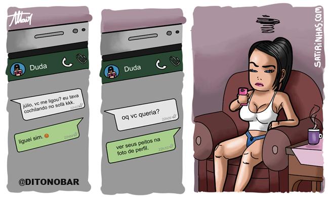 um safado no whatsapp