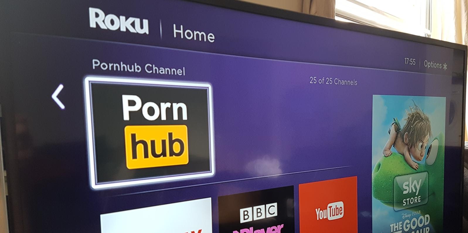 Agora você pode assistir o Pornhub na sua smart TV