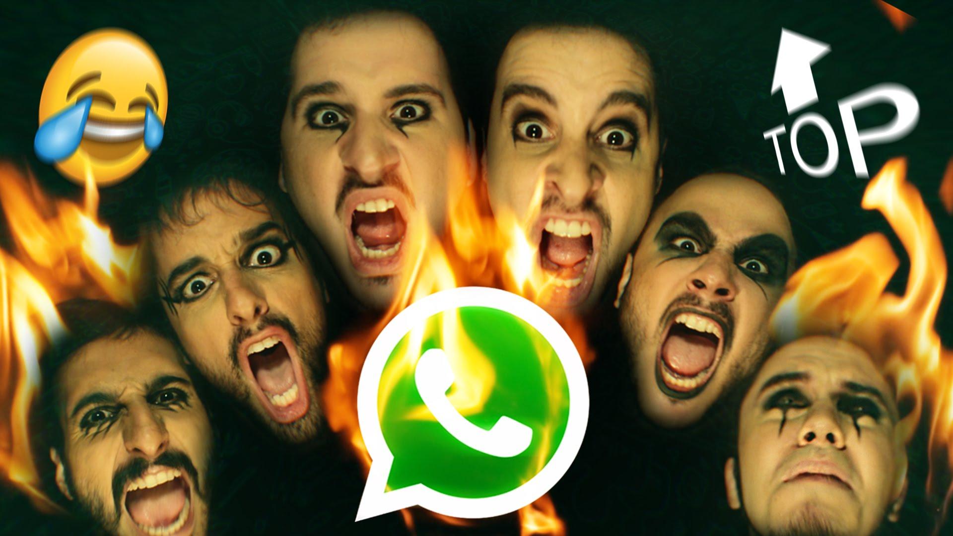 Grupo de família no whatsapp - Paródia Irmãos Castro