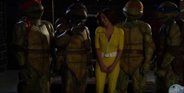 Trailer da Paródia porno das tartarugas ninjas