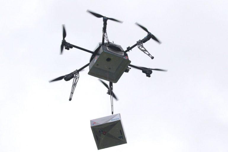Domino's promete entrega de pizzas feitas por drones