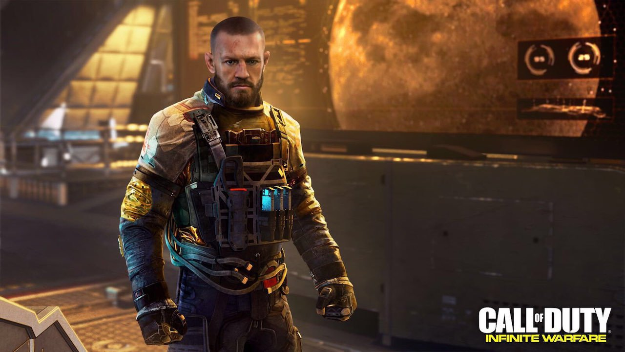 Conor McGregor será um personagem no novo Call of Duty: Infinite Warfare