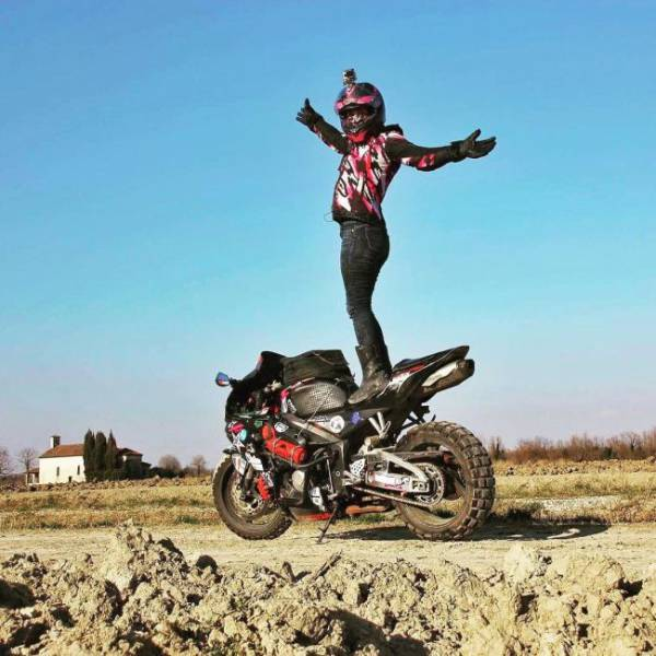 Alaska Moto Girl