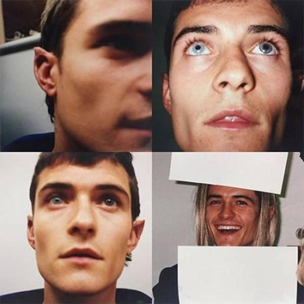 Orlando Bloom divulgou fotos pessoais dos bastidores de O Senhor dos Aneis