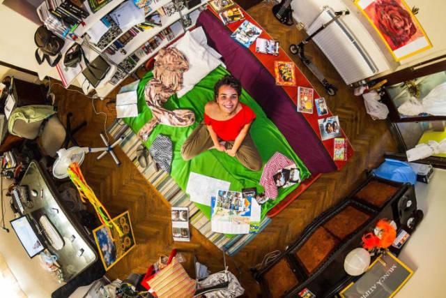 Bucareste, Romênia - Andreea, 24 anos, engenheira civil