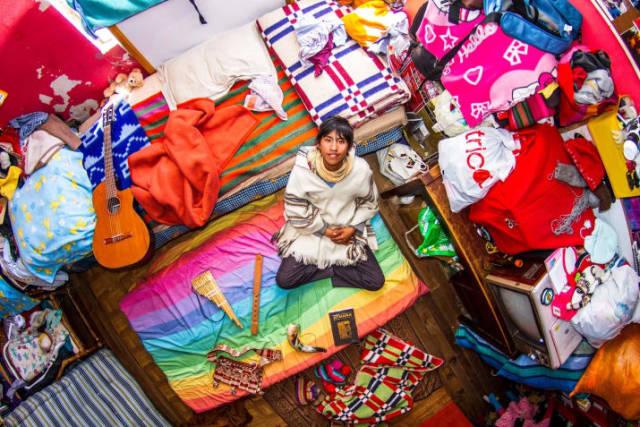 La Paz, Bolívia - Marcello, 18 anos, estudante do ensino médio