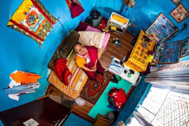 Katmandu, Nepal - Pema, 22 anos, estudante de budismo