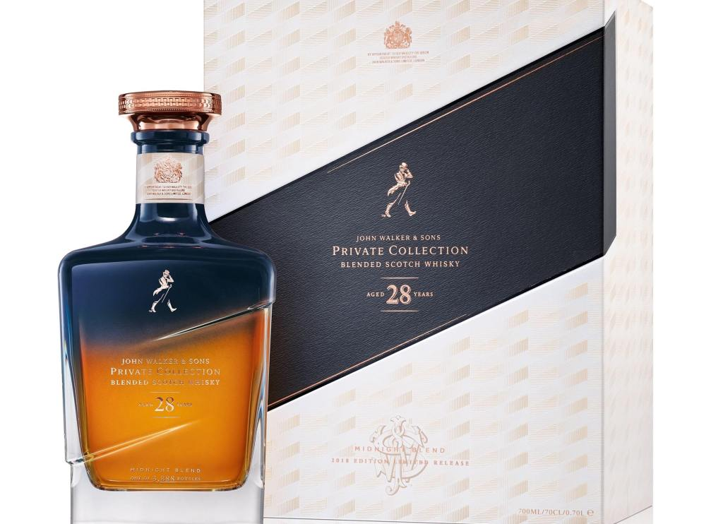 Johnnie Walker Midnight Blend | 3 mil reais em Whisky