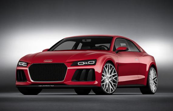 Audi Sport Quattro laserlight carro conceito