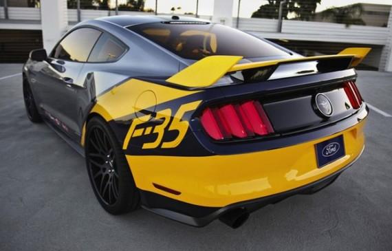 Ford cria Mustang especial inspirado no caça F-35 Lightning II