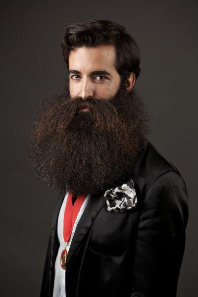 As barbas mais maneiras do World Beard and Moustache Championships - vencedor