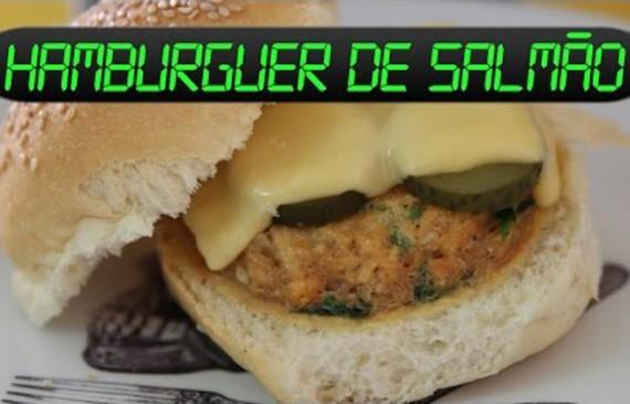 Aprenda como fazer Hambúrguer de Salmão no micro-ondas