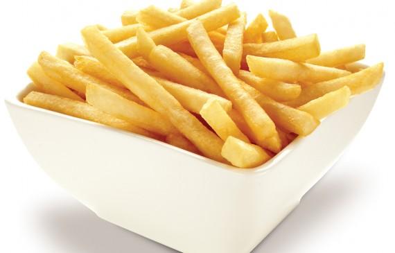 Aprenda como fazer batata frita no micro-ondas