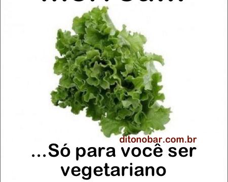 Vegetarianos não tem coração