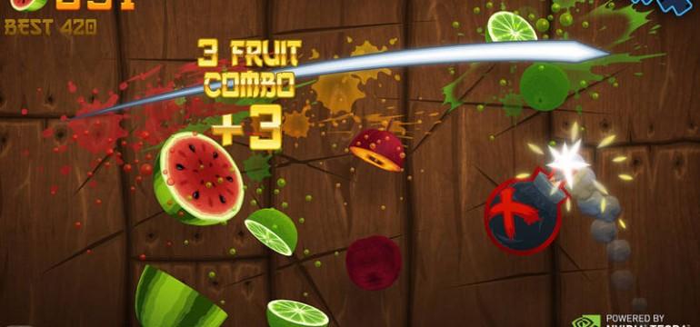 Fruit Ninja Online - Produtividade zero na segunda-feira