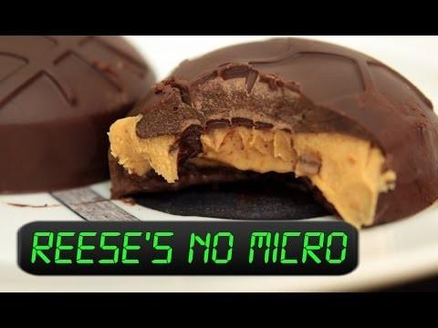 Aprenda como fazer chocolate Reese`s no microondas