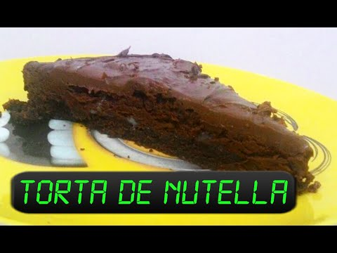 Aprenda como fazer Torta de Nutella no microondas