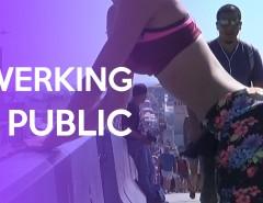 Twerking em público