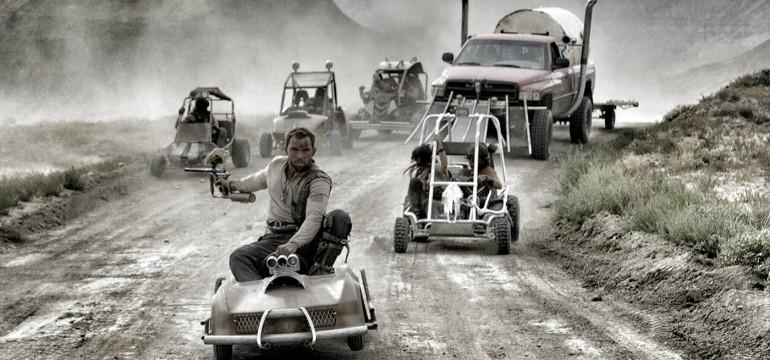 Mad Max kart Paintball