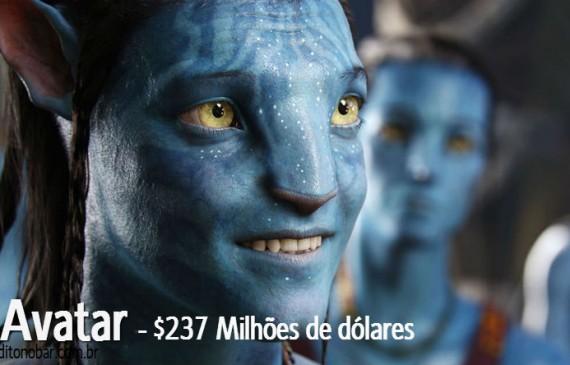 Os 10 filmes mais caros da história
