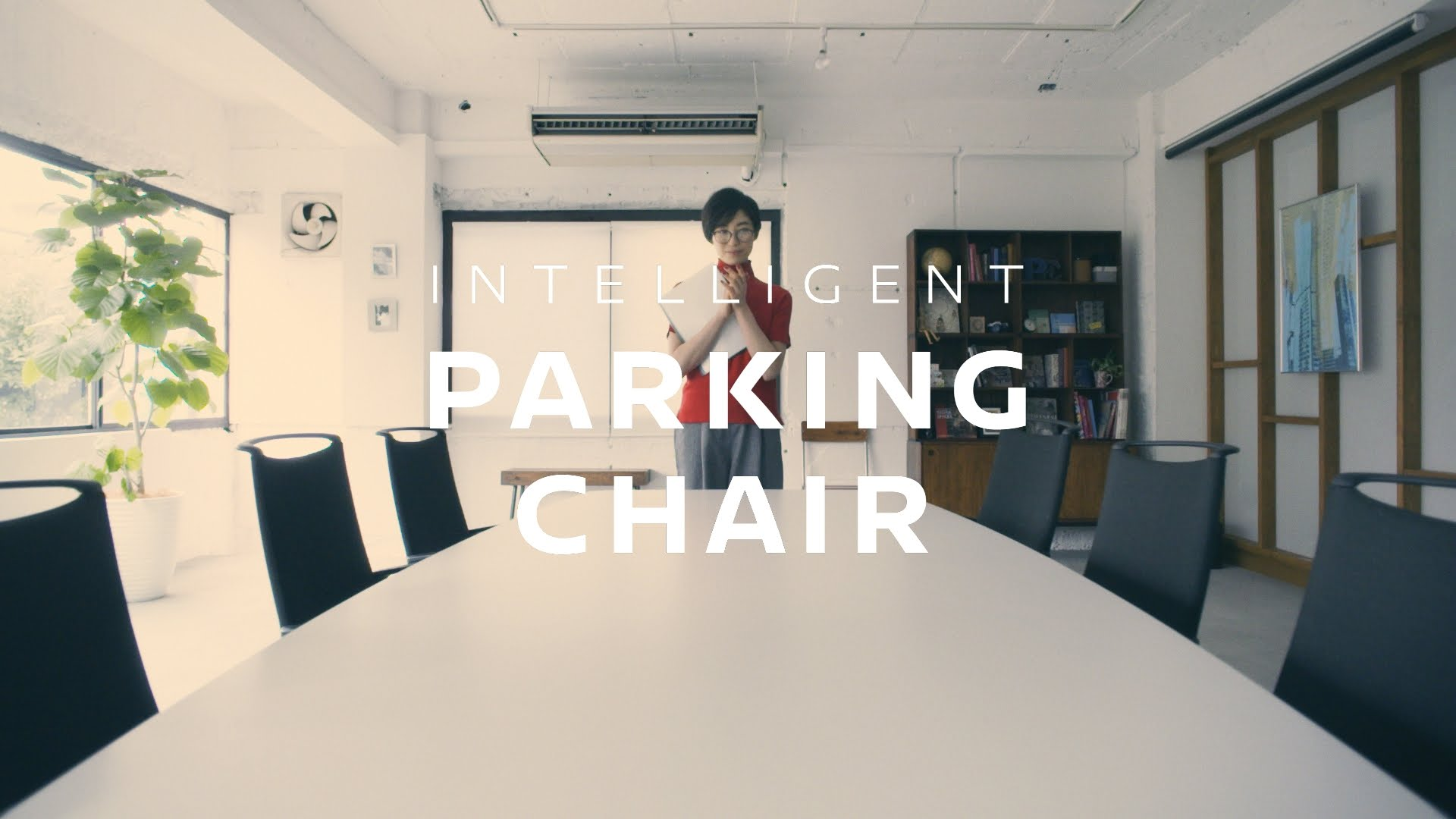 Cadeira inteligente que estaciona sozinha