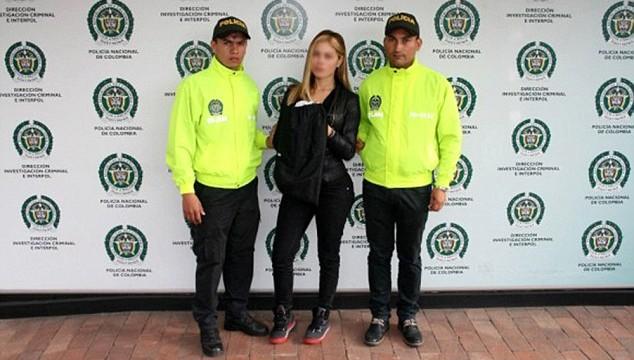 Modelo colombiana é presa por sequestrar e torturar sua rival