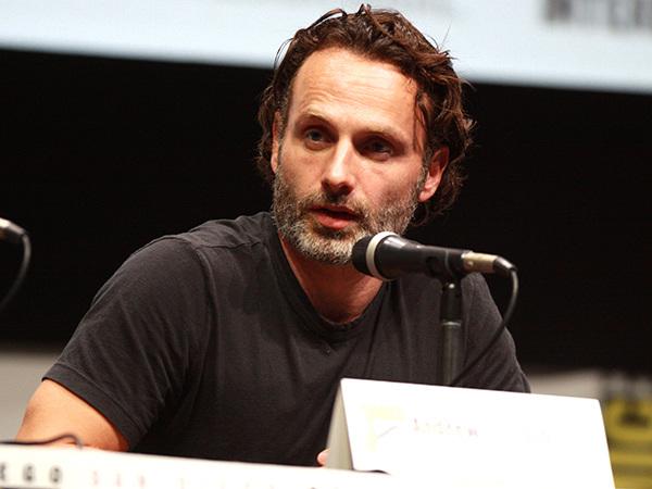 Andrew Lincoln está mais bem pago ator de The Walking Dead e ganha R $ 90.000 por episódio