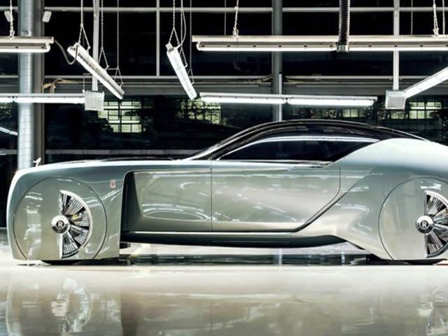 Versão futurística do Rolls-Royce que dirige sem volante1
