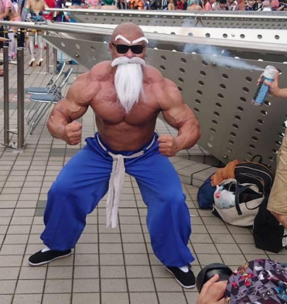 Dragon Ball | O melhor cosplay do mundo do Mestre Kame