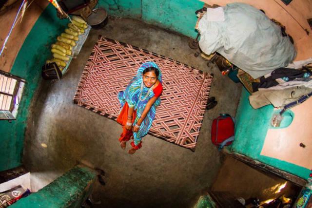 Bamansemilya, Índia - Asha, 17 anos, dona de casa