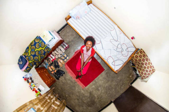 Kigali, Ruanda - Josee, 22 anos, estudante de contabilidade